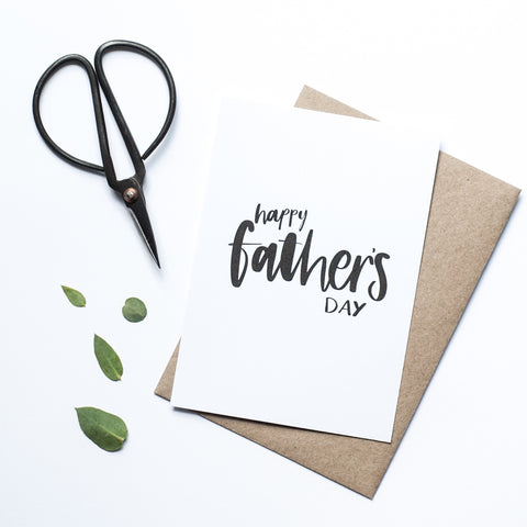 'Happy Father's Day' Card