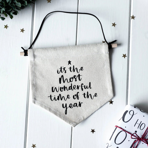 *PRE-ORDER*  Most Wonderful Time Banner