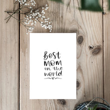 'Best Mom' Card