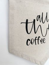 "'All the Coffee"" Banner"