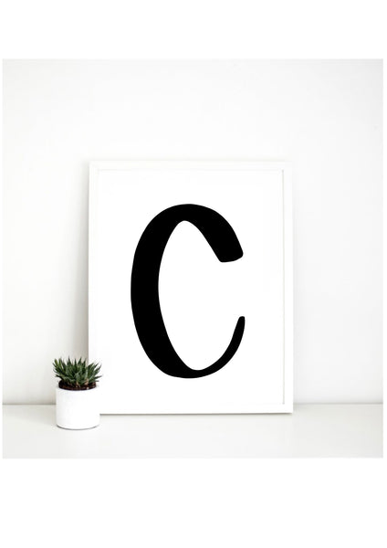 Alphabet Print - Lowercase