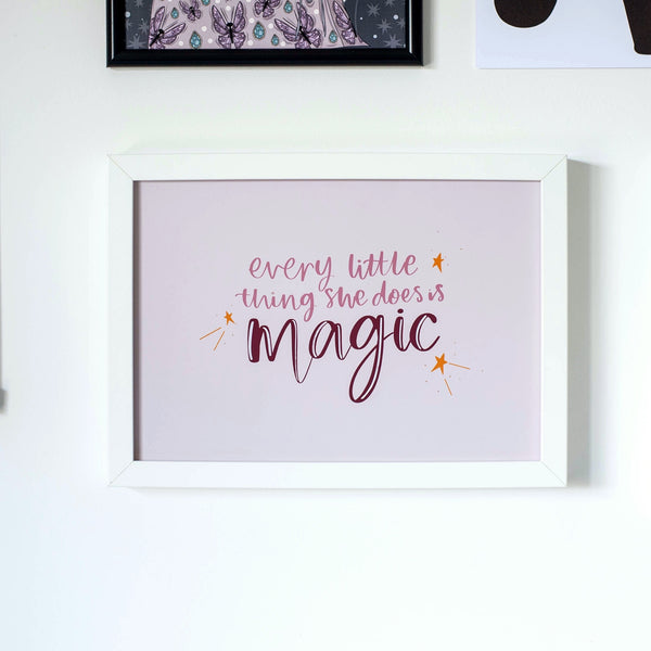 'She's Magic' Print