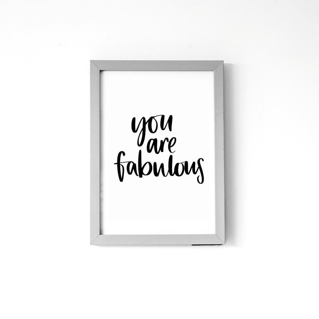 'You are Fabulous'