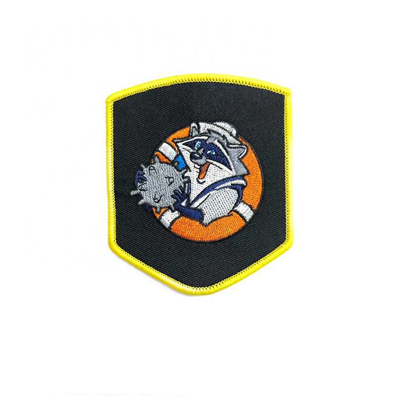 Embroidered Custom Embroidery Patch and Woven Iron On Patches For Clothing