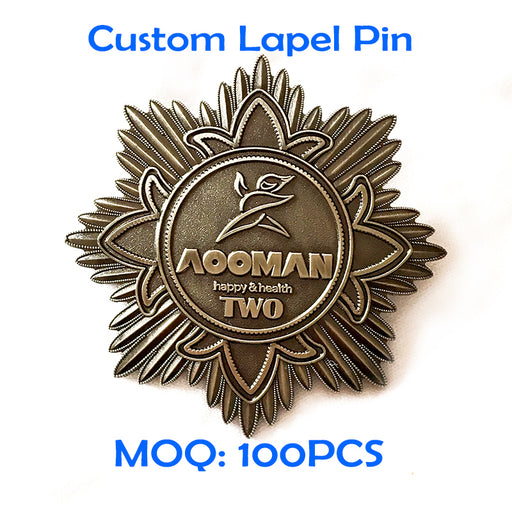 Custom lapel pin