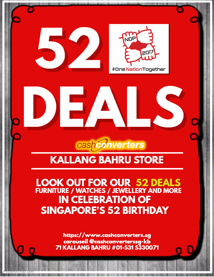 National Day 2017 - Kallang Bahru Store Deals