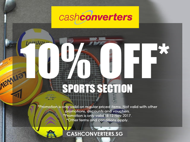 10% Off Sports Section