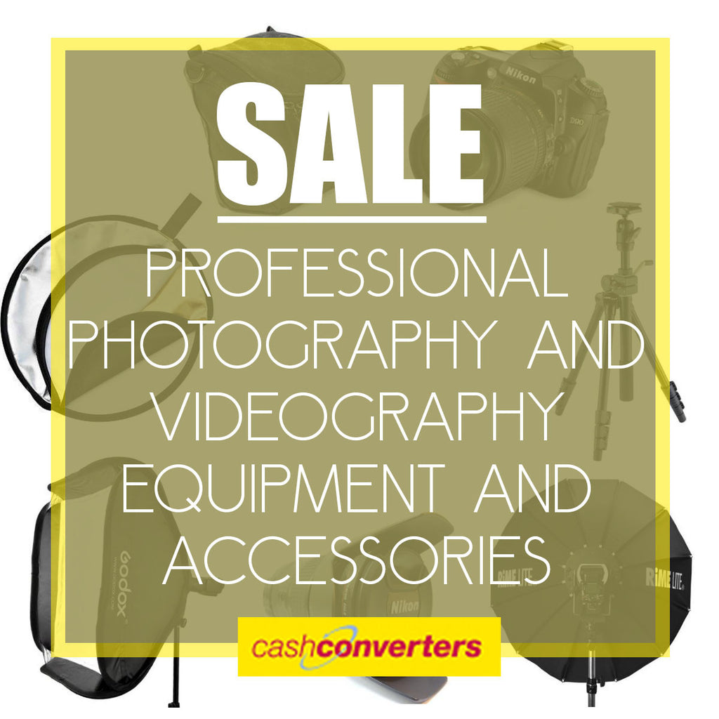 SALE: Photography and Videography Accessories and Equipment.