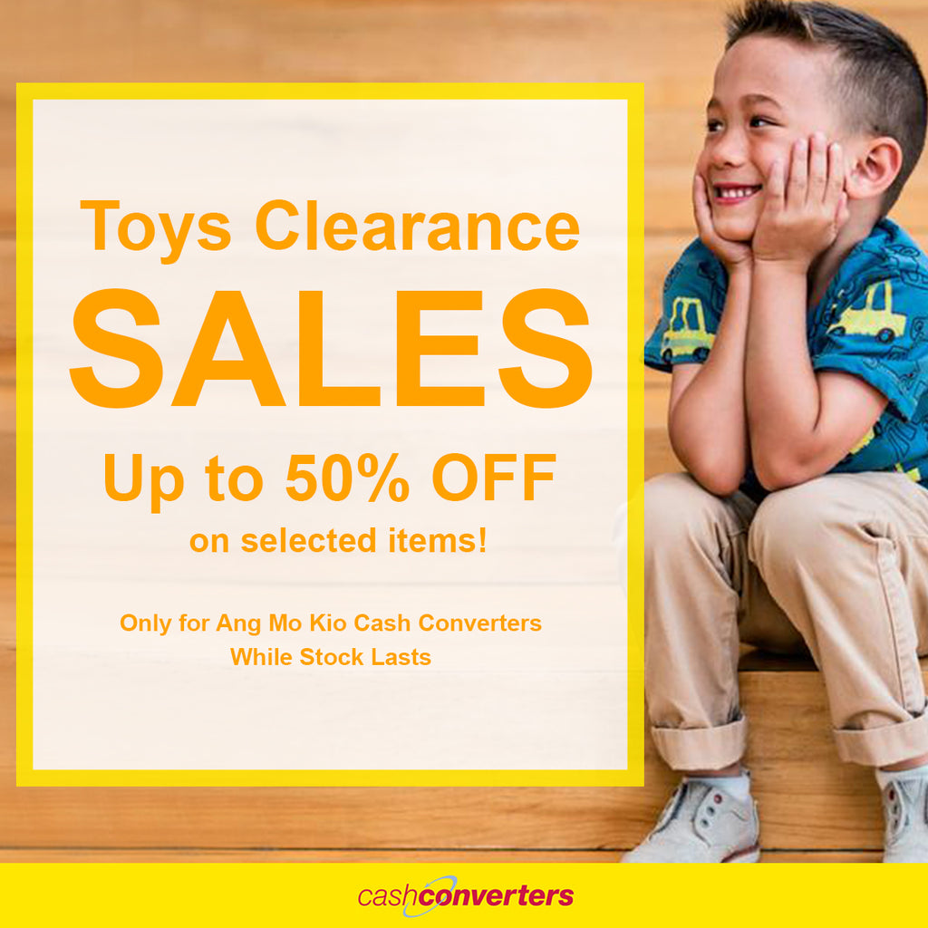 TOYS CLEARANCE SALES - Up to 50% OFF