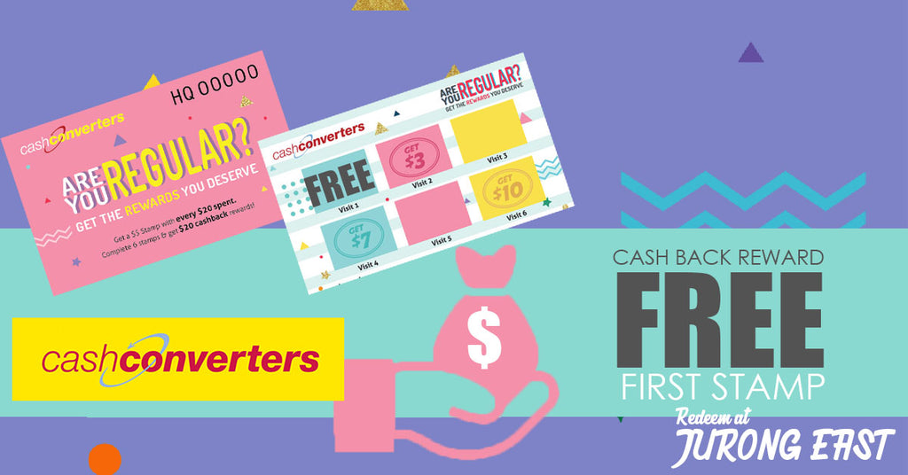 Jurong East Cash Converters: Rewards Program Online Specials