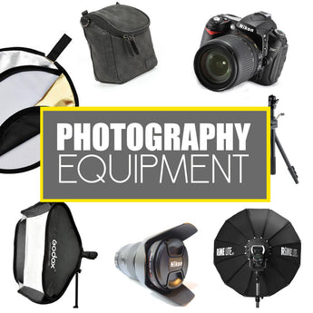Videography and Photography Equipment and Cameras