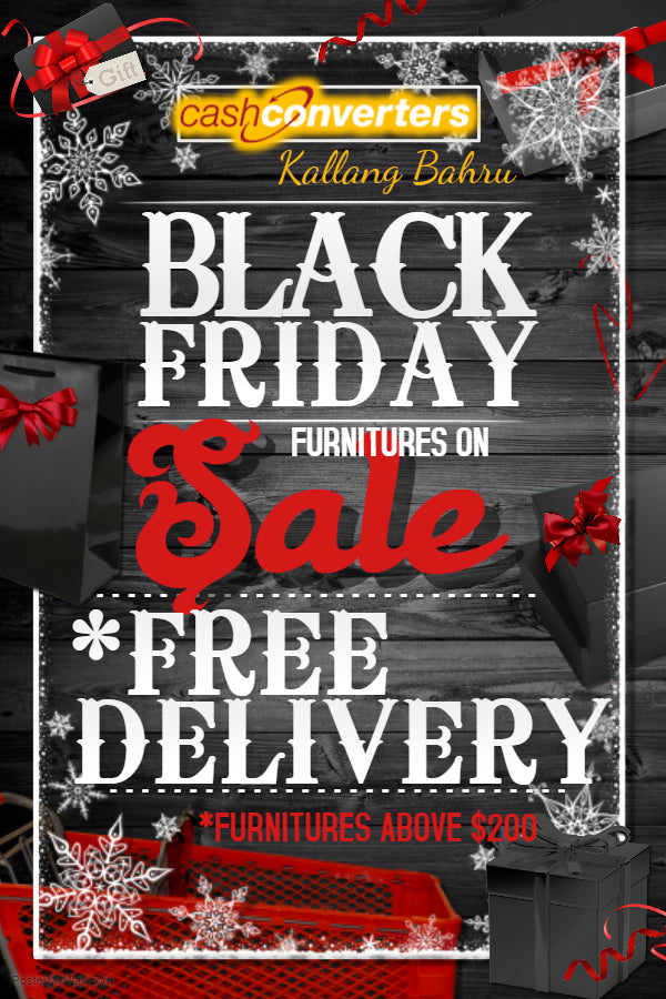 Furniture Black Friday Promotion 2017 at Kallang Bahru