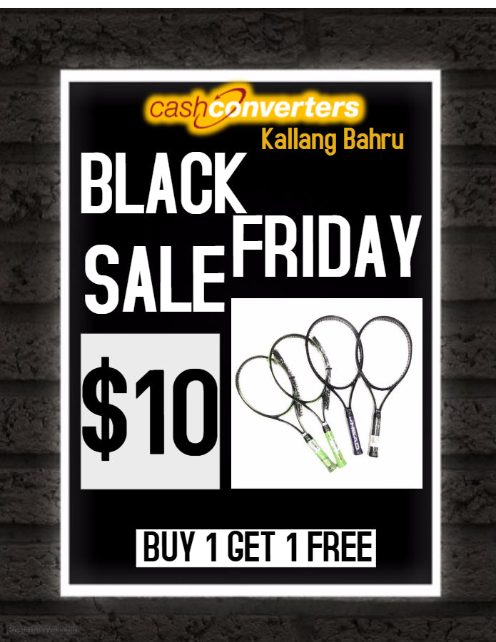 Tennis Racket Buy 1 Get 1 Free at $10