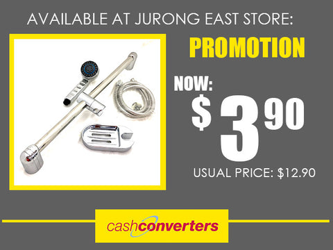 Shower head promotion