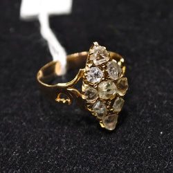 Yellow Gold Intan Ring (Jurong)