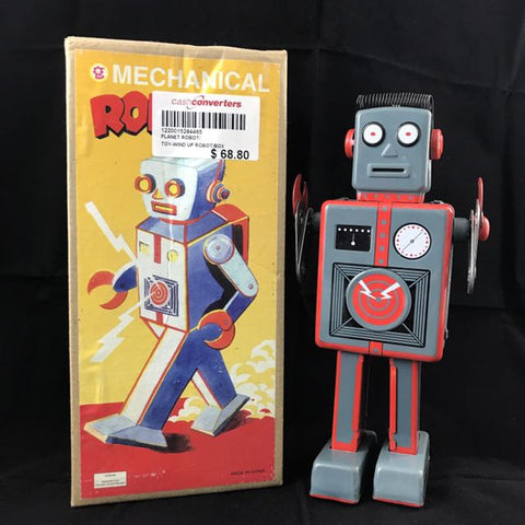 METAL MECHANICAL TOY ROBOT