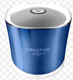 CREATIVE WOOF 3 RECHARGEABLE BLUETOOTH SPEAKER
