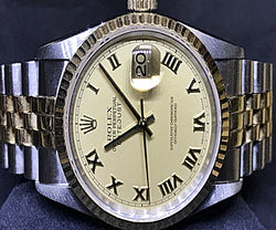 ROLEX MENS HALF GOLD WATCH (16233) - (Kallang Bahru)