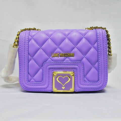 Love Moschino Purple Ladies Bag (Toa Payoh)