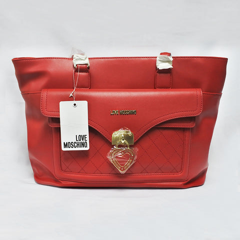 Love Moschino Large Red Ladies Bag (Toa Payoh)