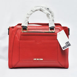 Love Moschino Red Ladies Hand Bag (Toa Payoh)