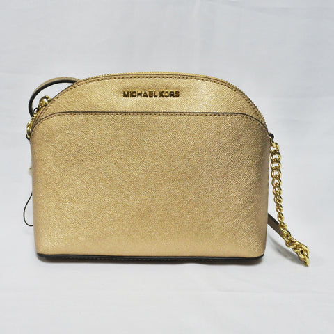 Michael Kors Gold Ladies Sling Bag (Toa Payoh)