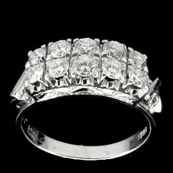 ONLY AVAILABLE OFFLINE - 750 White Gold Diamond Ring