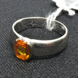 750 White Gold Yellow Sapphire Ring (Toa Payoh)