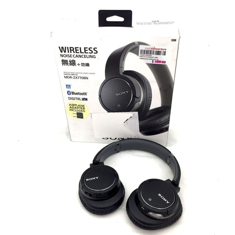 ONLY AVAILABLE AT OUR JURONG OUTLET - ZX770BN Wireless Noise Cancelling Headphones