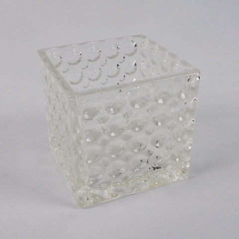 Square Glass Vase With Dots (Selected Stores)