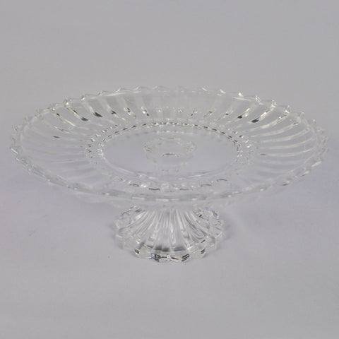 GLASS CAKE TRAY WITH STAND (Selected Stores)