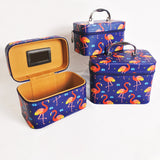 COSMETIC BAG-3IN1 NESTING/FLAMINGO (Selected Stores)