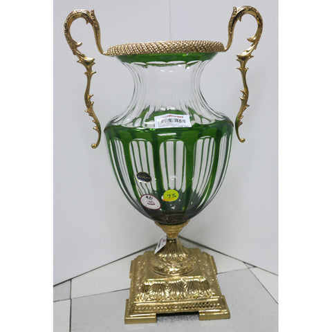 BOHEMIA TROPHY-DISPLAY/GREEN/GOLD/LARGE (Toa Payoh)
