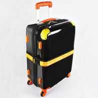 Black Shiny Hard Case Luggage (Selected Stores)