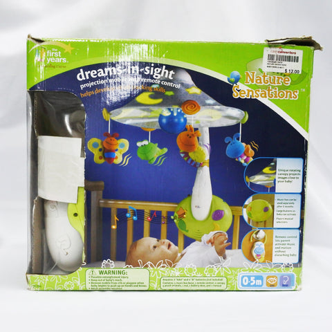 Dreams-in-sight Projection Mobile With Remote Control (Tampines)
