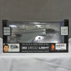 Crashed Jet 3D Deco Light (Tampines)