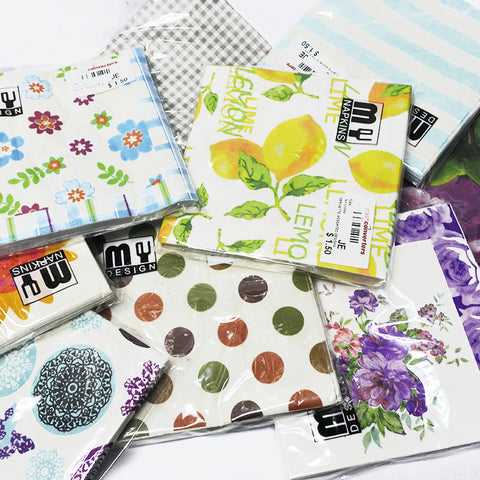 Assorted Designs Serviette (Selected Stores)