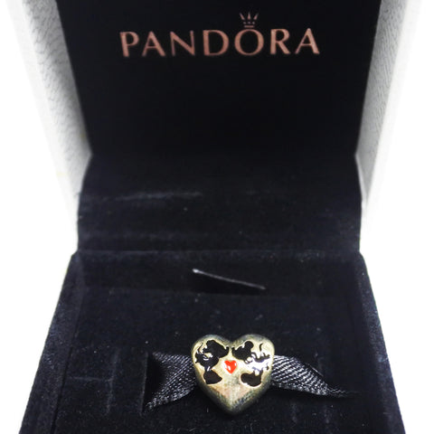 Pandora Mickey and Minnie Mouse Heart Charm (Kallang Bahru)