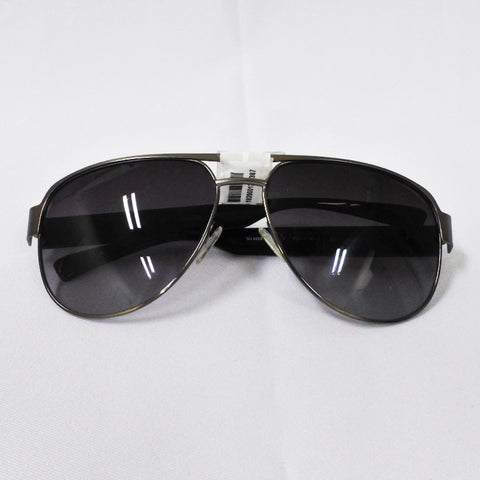 Guess Silver Black Sunglasses (Chinatown)