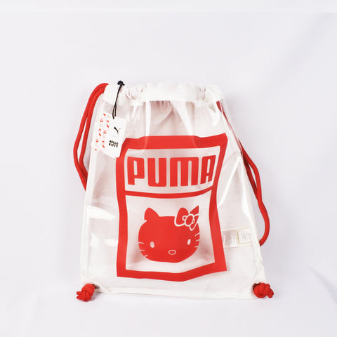 Puma Transparent Hello Kitty Drawstring Backpack (Selected Stores)