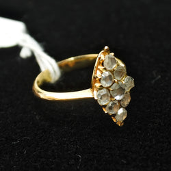 18K Yellow Gold Intan Ring (Chinatown)