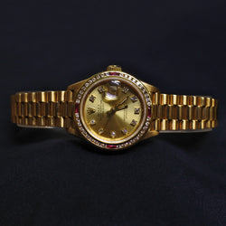 Rolex Watch With Diamond and Ruby Dial (Kallang Bahru)