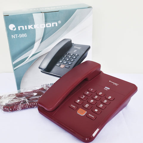 Nikkoon Corded Phone NT-986 (Toa Payoh)