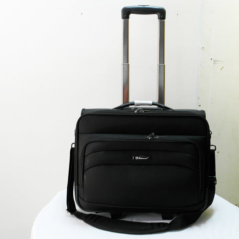 Eminent Black Canvas Bag With Wheels (Toa Payoh)