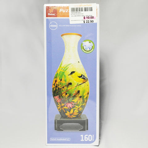 Pintoo Bird and Flowers Puzzle Vase (Tampines)
