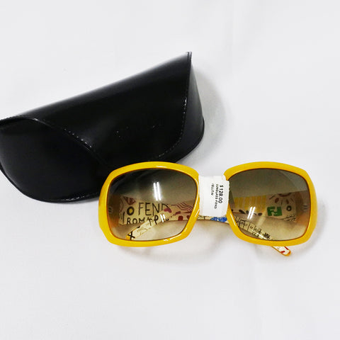 Fendi Yellow Sunglasses (Chinatown)