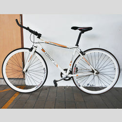 White Racing Bicycle (Tampines)