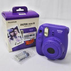 Fujifilm Instax Mini8 Instant Camera (Purple) (Chinatown)