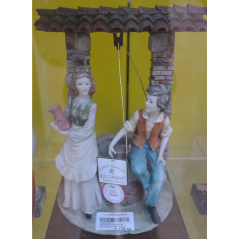 RICCARDO MAN, WOMAN AT WELL DISPLAY FIGURINE (Toa Payoh)