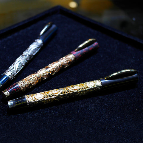 Romance Of The Three King Fountain Pen Set (Chinatown)